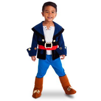 Kapten Jake-dräkt i barnstorlek, Jake och piraterna i landet Ingenstans