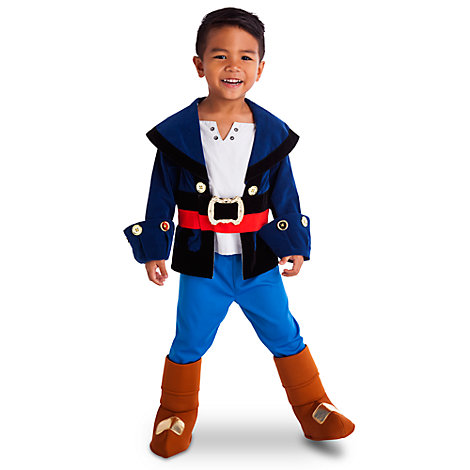 Disfraz infantil Capitán Jake, Jake y los piratas de Nunca Jamás