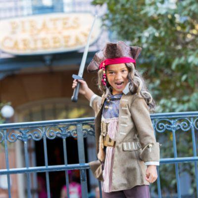Fluch der Karibik: Salazars Rache - Jack Sparrow - Kostüm für Kinder