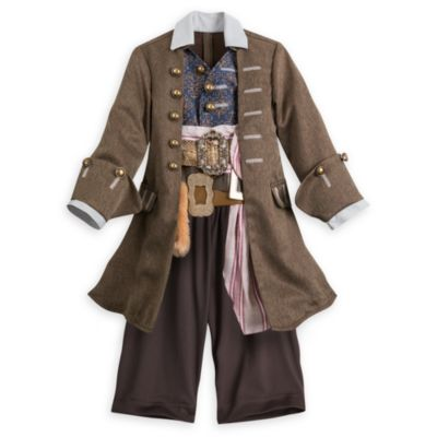 Jack Sparrow Costume For Kids, Pirates of the Caribbean: Salazar's Revenge