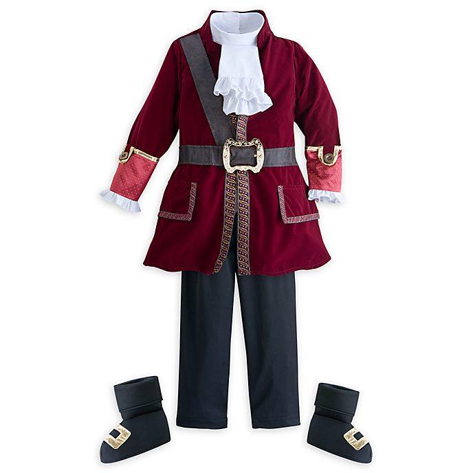 Disney Store Captain Hook Costume For Kids