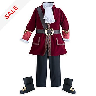 Disney Store Captain Hook Costume For Kids