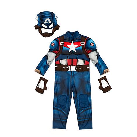 Disfraz infantil del Capitán América