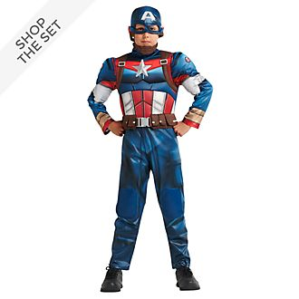 Disney Store Captain America Costume Collection For Kids