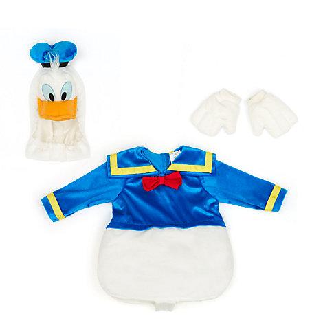 Tutina costume neonato Paperino