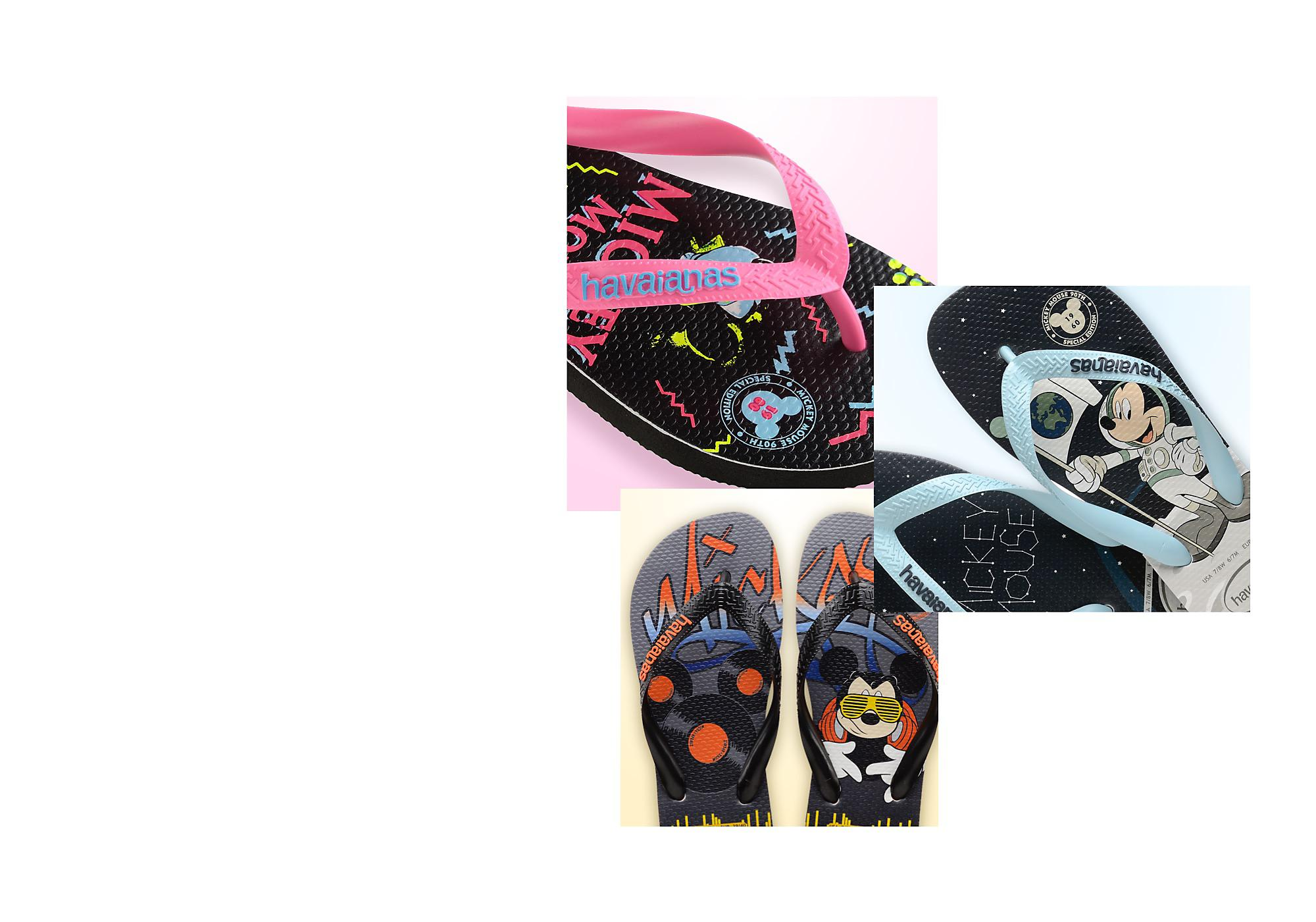 Chilled Out Footwear Combining Brazilian style and Disney artwork make the perfect flip flops