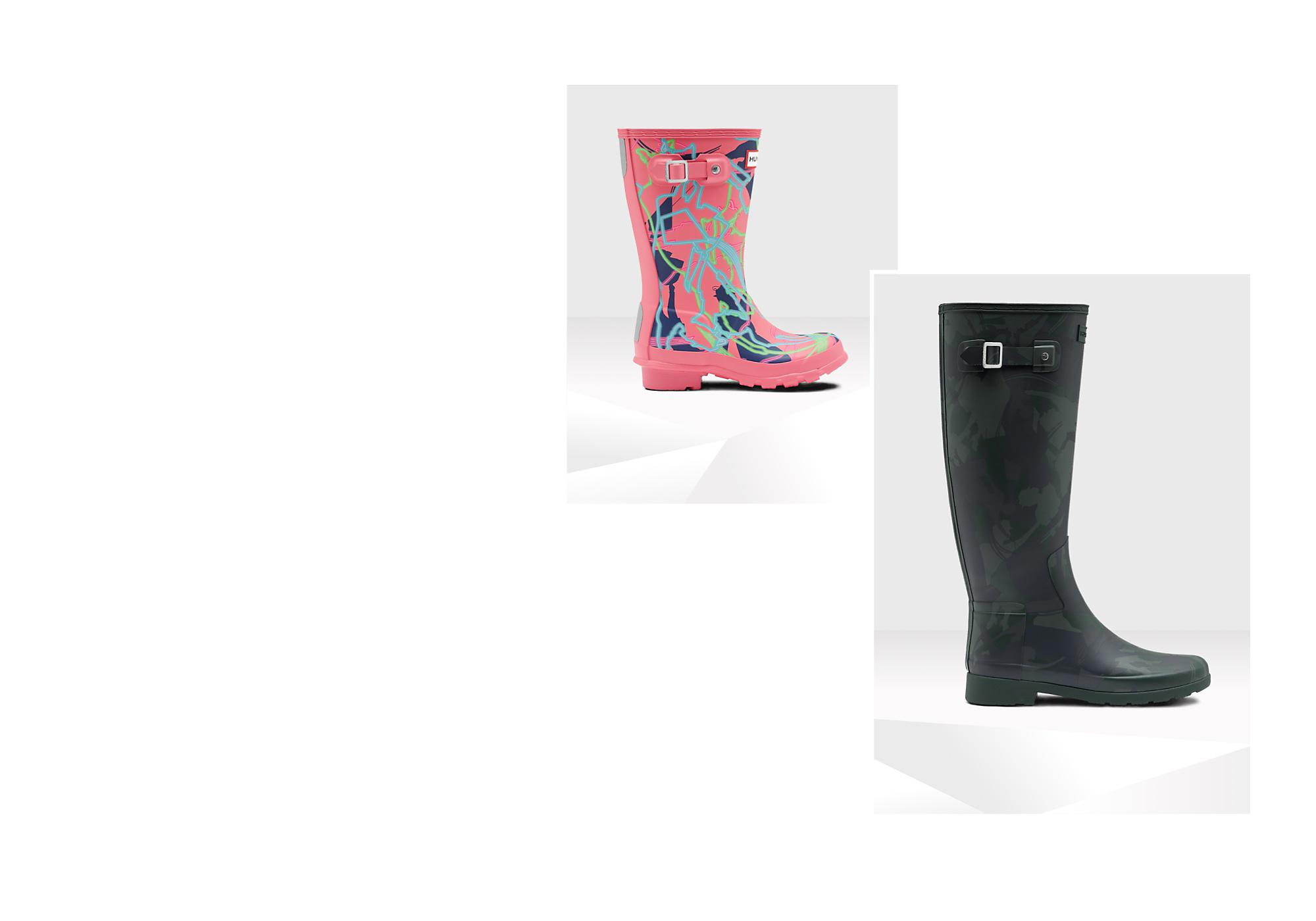 Practically Perfect Wellies Hunter has created these fabulous wellies inspired by Mary Poppins Returns