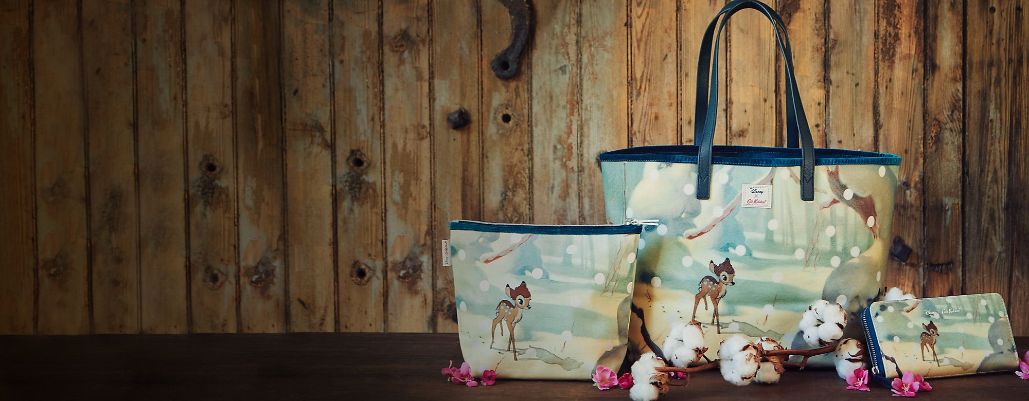 Cath Kidston x Disney Bambi collection  SHOP NOW