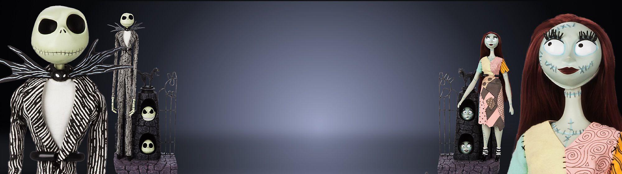 Figuren zum 25. Jubiläum von Nightmare Before Christmas in limitierter Edition Veröffentlichung am 31. Oktober | €180  Weltweite Auflage von 3.000  Online und in ausgewählten Stores | Limitiert auf 1 Exemplar pro Kunde und Haushalt