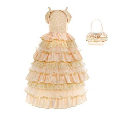 Die Schöne und das Biest - Belle Premium-Partykostüm für Kinder