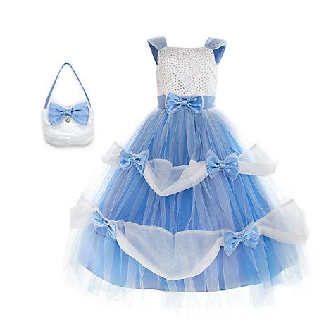 Cinderella Premium Party Costume For Kids