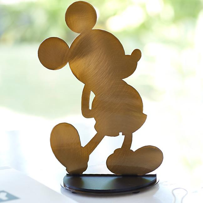 Mickey Gold Figur in limitierter Edition  ZUM SHOP