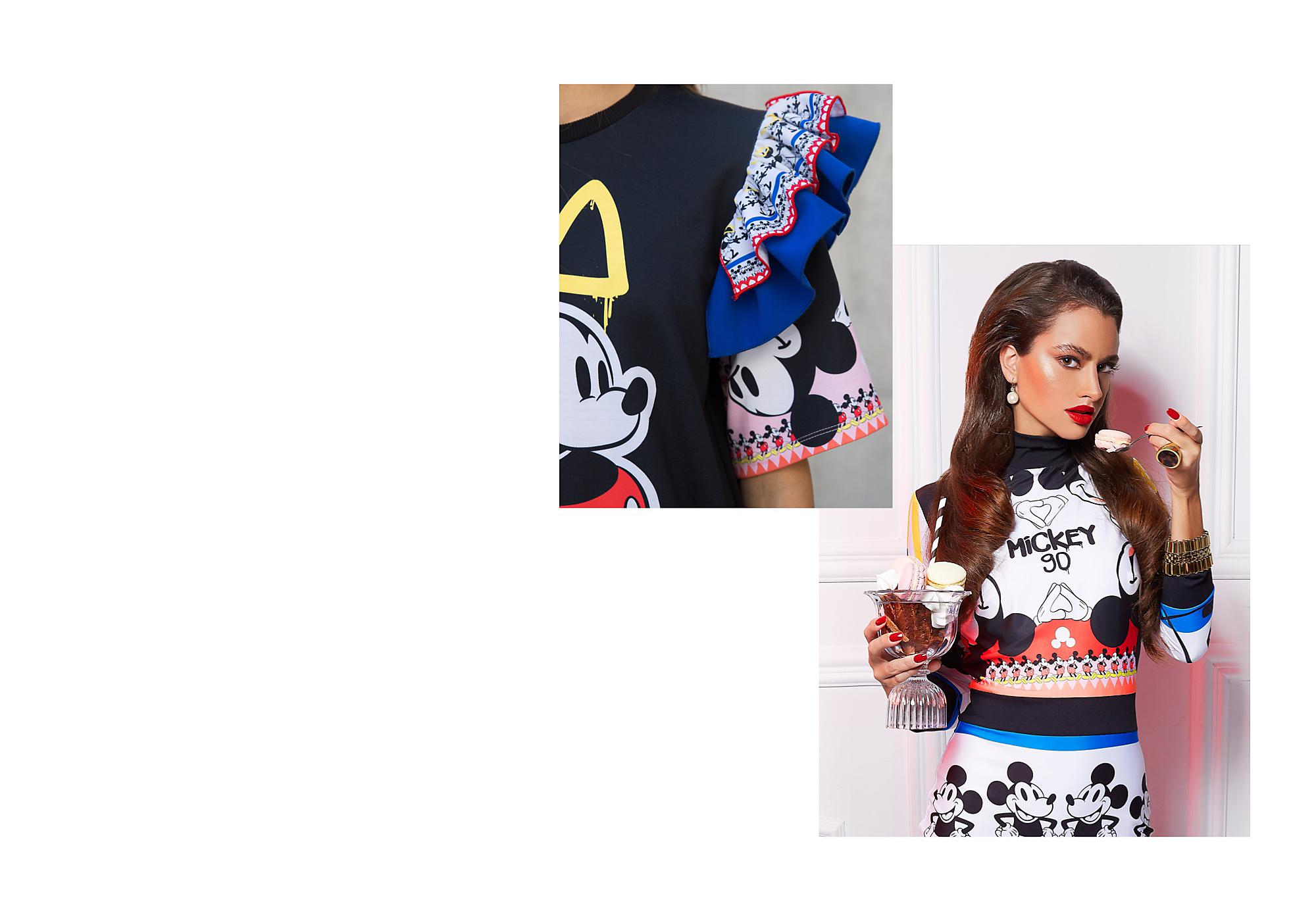 Fresh and Innovative Fashion Hungarian fashion brand Sugarbird has team up with Disney to celebrate Mickey's 90th!
