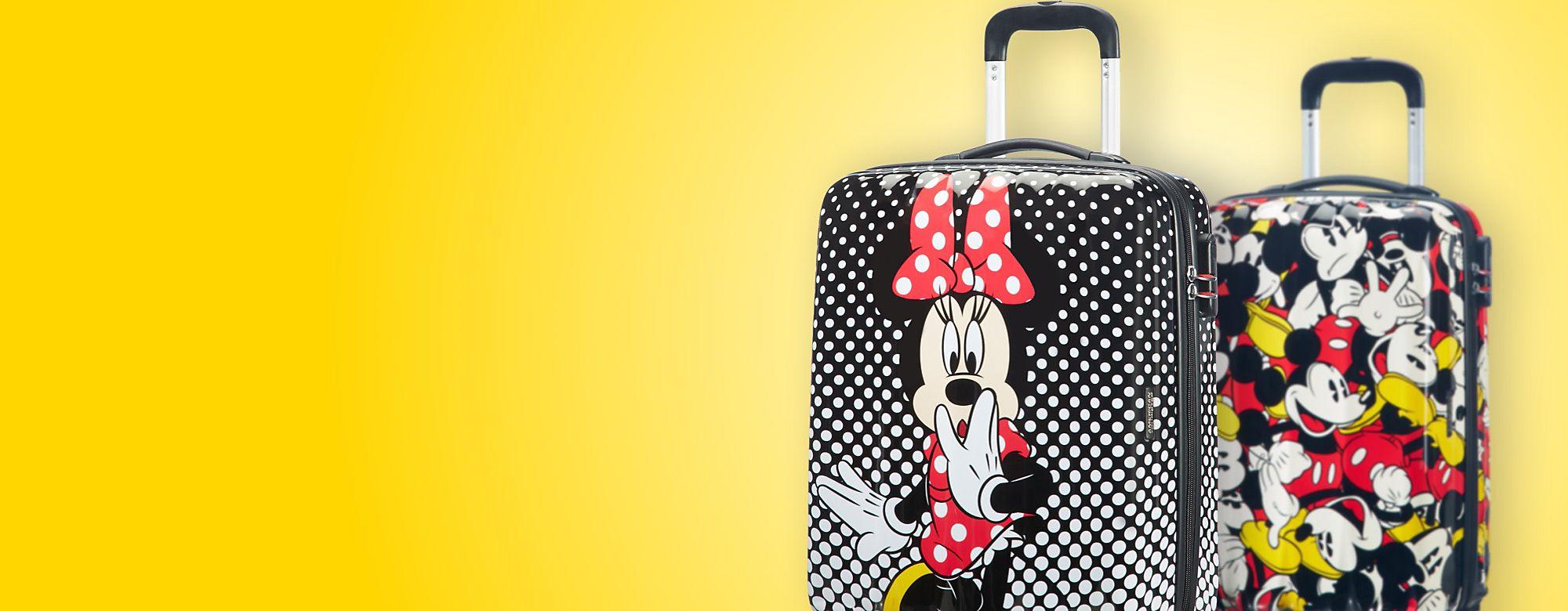 American Tourister Partez en voyage avec American Tourister et Disney, grâce à cette belle collection de sacs, valises et cartables pour enfants ! DÉCOUVRIR