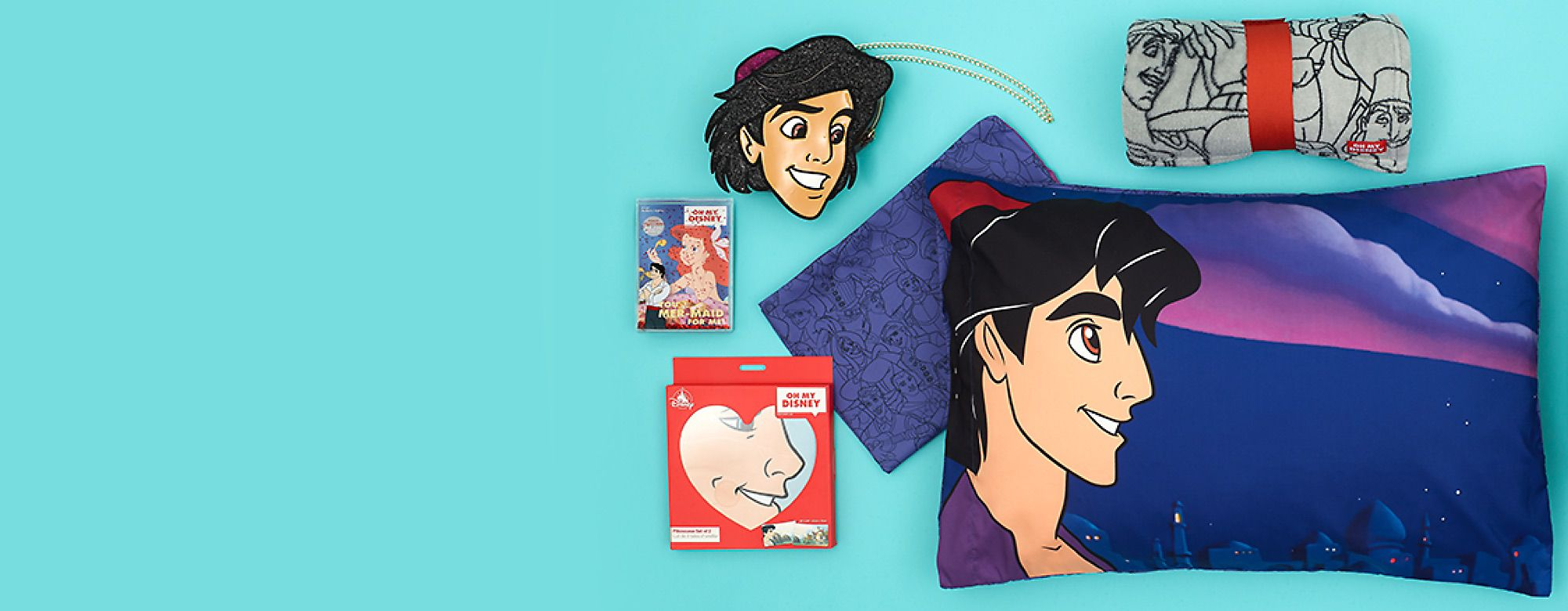 Oh My Disney Let Happily Ever After begin with our quirky Disney Prince collection SHOP ALL