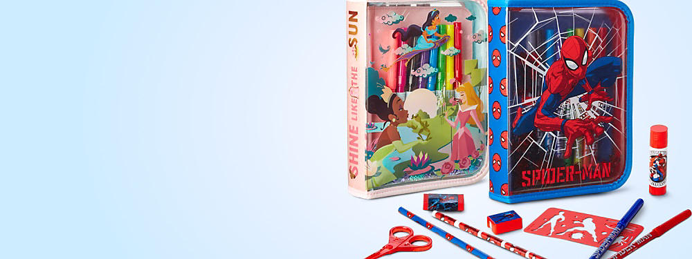 Get any Zip-Up Stationery Kit for only £6.99 with any purchase  SHOP ALL