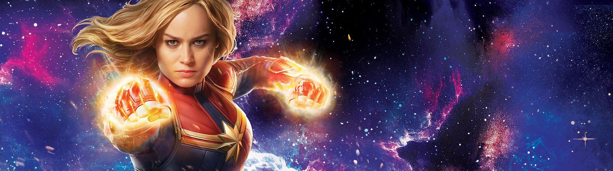 Devenez un super-héros comme Captain Marvel, en revêtant son déguisement ou bien en vous amusant avec les jouets à son effigie!