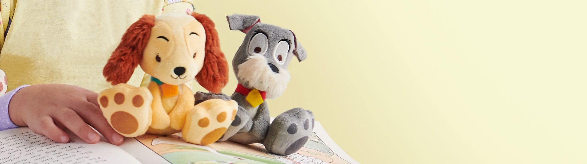Tiny Big Feet Soft Toys Lady and the Tramp