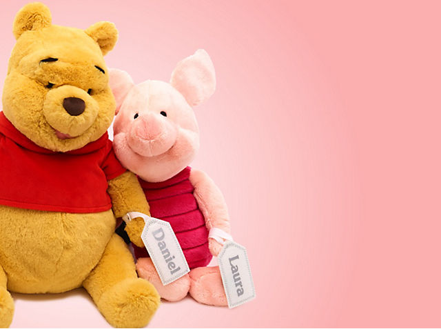 Perfectly Personalised Just For You! Personalise any soft toy for just £1 SHOP NOW