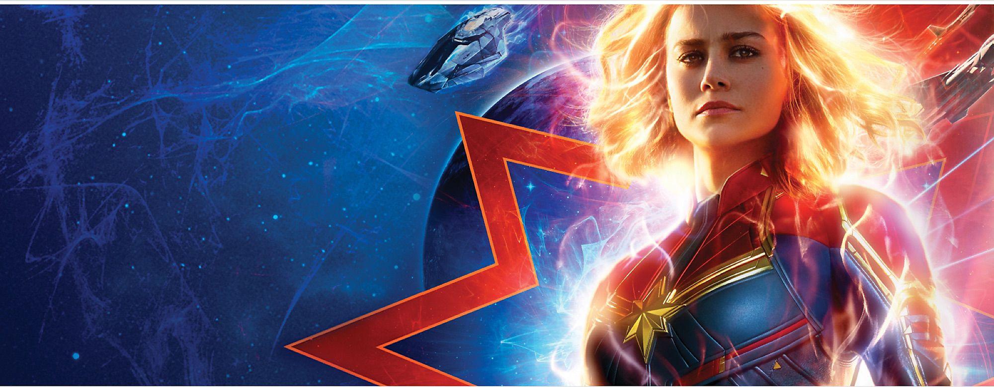 Carol Danvers wird zu einer der stärksten Heldinnen des Universums im Kampf zwischen zwei außerirdischen Rassen. Entdecke unser intergalaktisches Sortiment aus Kleidung, Kostümen, Spielzeug und mehr. Erscheint im März 2019
