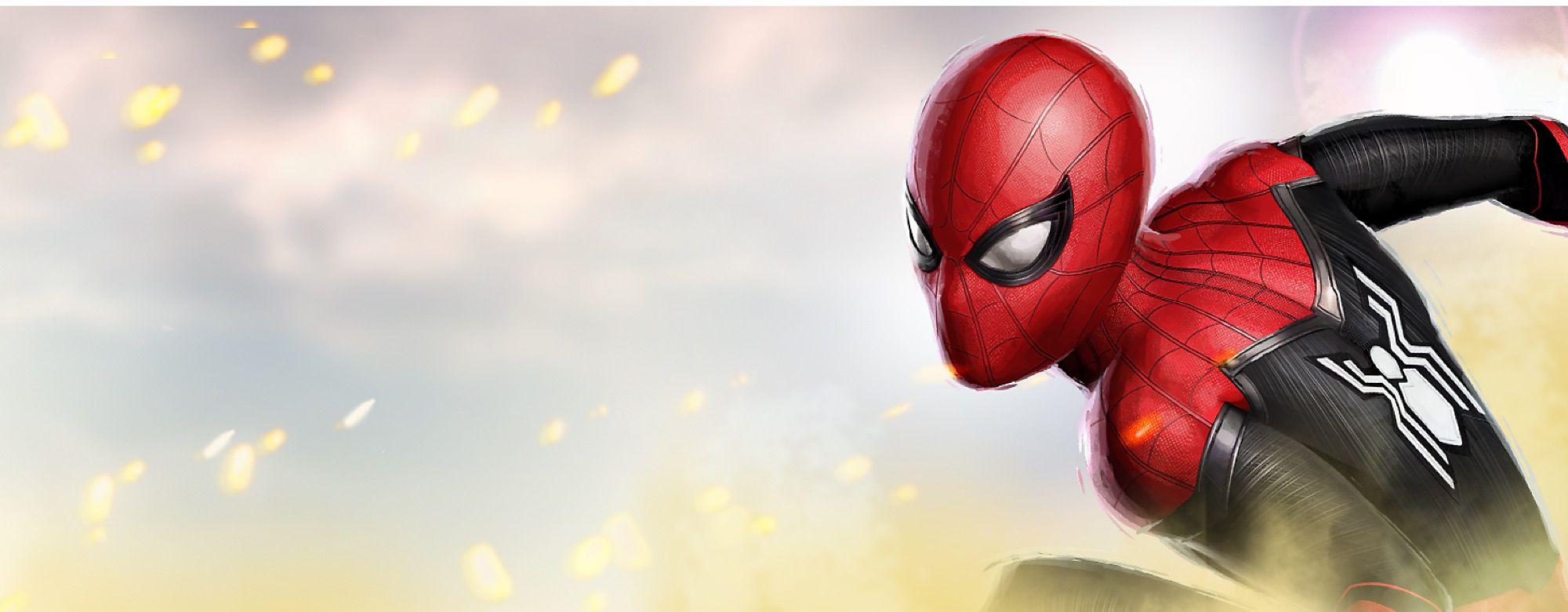 """Spider-Man: Lejos de casa Peter Parker y sus amigos dedicen veranear en Europa, donde Peter acaba intentando salvar a sus amigos de un villano llamado """"""""Mysterio"""""""". Únete a la aventura con nuestra divertida colección de juguetes, disfraces, ropa, etc. Lanzamiento en julio de 2019"""