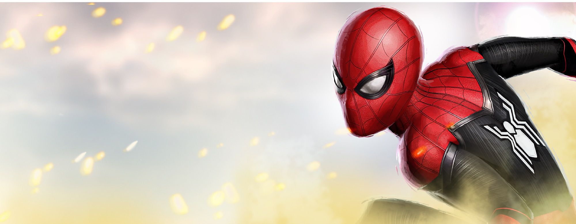 Spider-Man: Far From Home Peter Parker and his friends go on summer holiday to Europe, where Peter finds himself trying to save his friends against a villain known as Mysterio. Join the adventure with our action-packed collection of toys, costume, clothing and more.