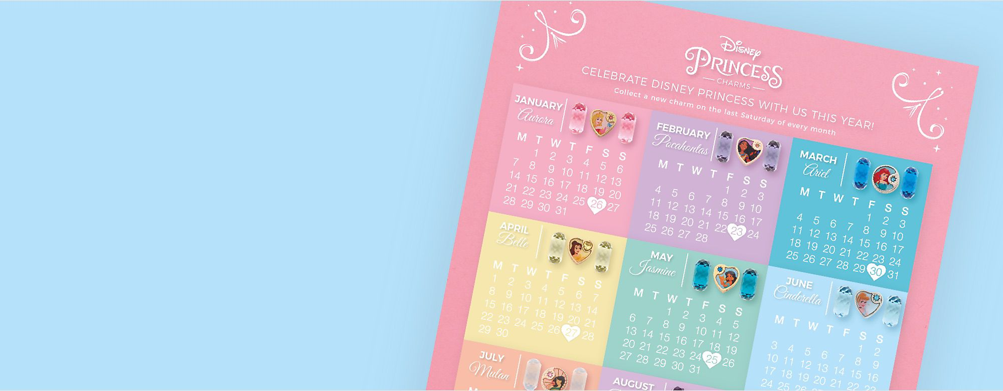 Download your copy of our Princess Calendar to make sure you never miss a Saturday!