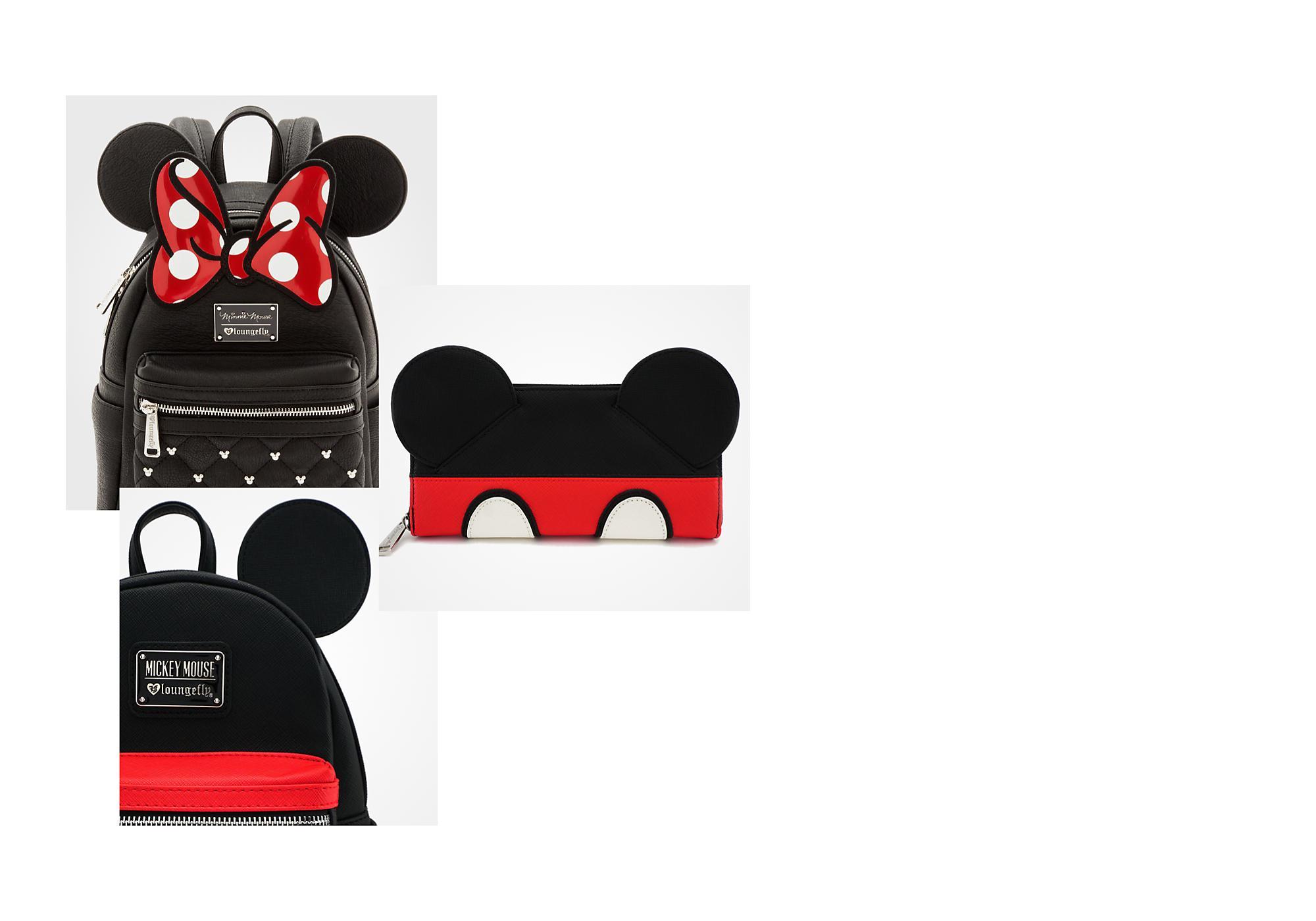 Bolsos de personajes Bolsos y mochilas únicos y vanguardistas que reinterpretan a los personajes de Disney, Marvel y Star Wars.