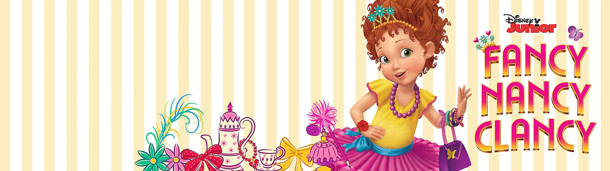 Fancy Nancy Clancy Ooh la la! Join Fancy Nancy and our fantastique collection of toys, costumes, clothing and more