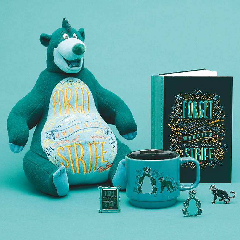 Baloo Forget about your worries and your strife with our Disney Wisdom Baloo Collection