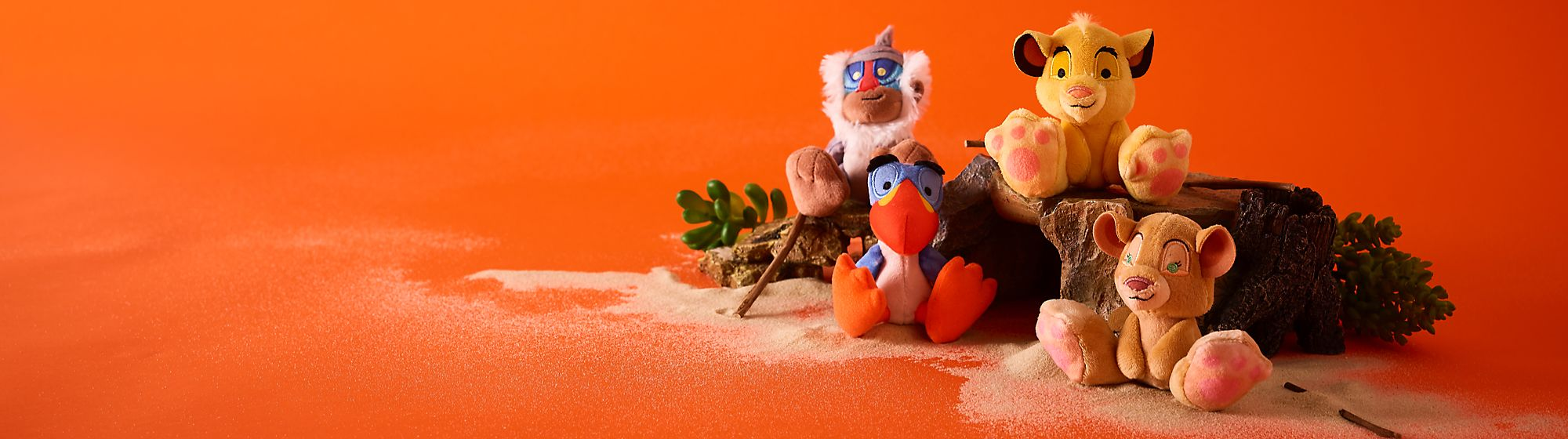 The Lion King Tiny Big Feet Explore our wildly exciting collectibles Releases 31st May