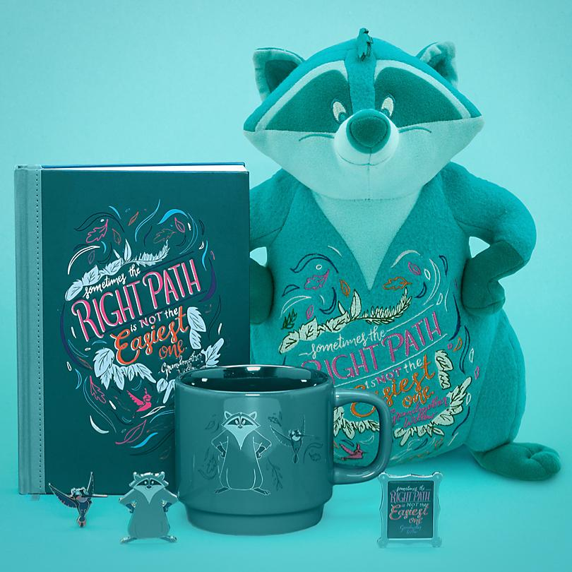 Meeko Explore the colours of the wind with our Disney Wisdom Meeko Collection