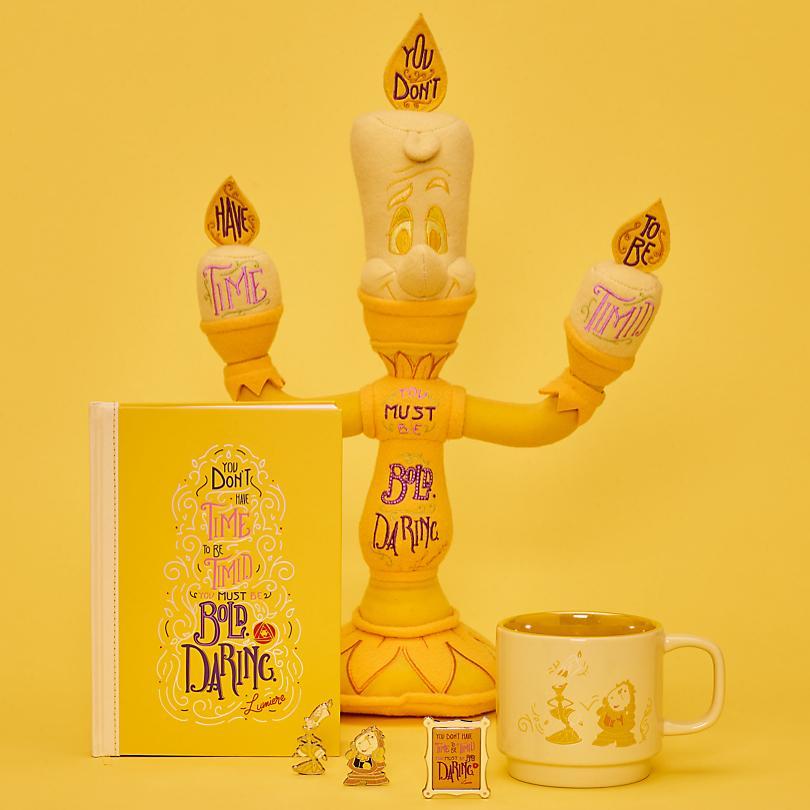 Lumiere Hebe dich von der Masse ab mit unserer Disney Wisdom Lumiere Collection Bald verfügbar Erhältlich ab dem 18. Juni