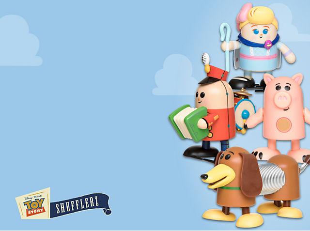 Shufflerz Toy Story 3 Oooh! Scopri i nostri nuovissimi giocattoli a carica manuale