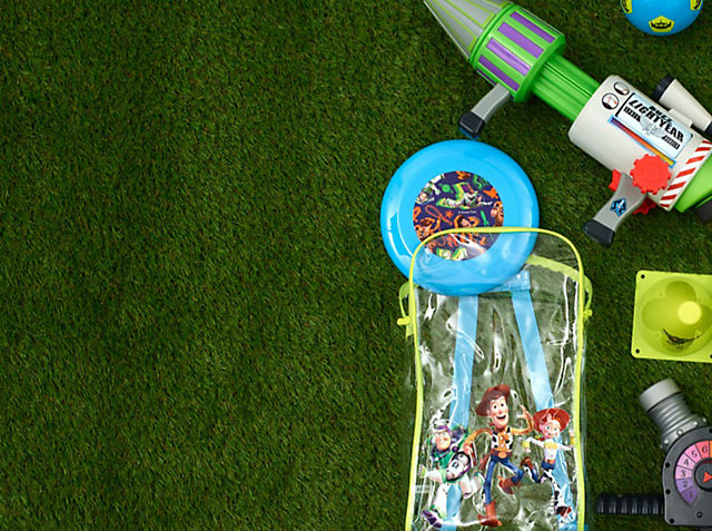 Take the Action Outside With our collection of Toy Story 4 outdoor toys SHOP NOW
