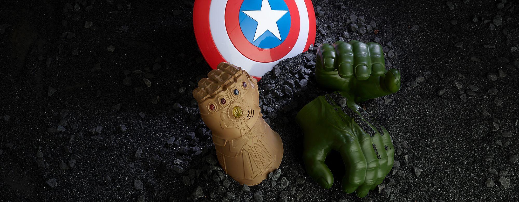 Marvel Découvrez notre vaste collection de produits inspirés des super-héros Marvel !