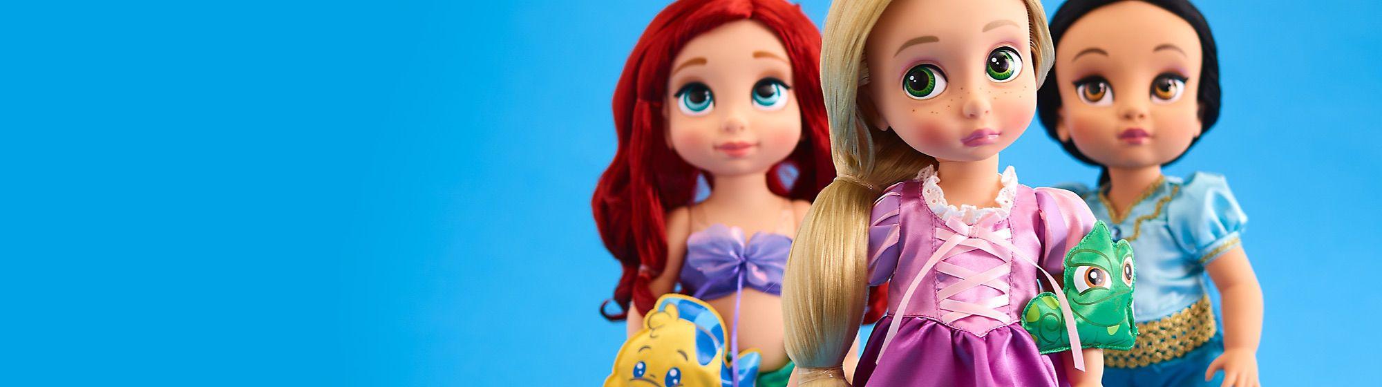 Colección Animators Descubre ahora la Colección Exclusiva de Disney Animators. Muñecas y figuras de todas las princesas Disney te están esperando.