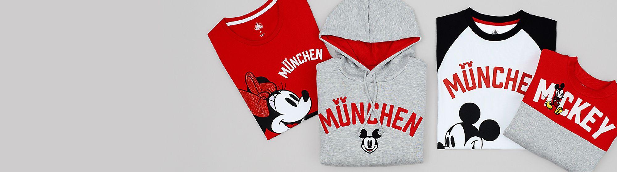 Disney Cities Kollektion Kleidung mit Städtenamen für die ganze Familie Weitere Städte werden bald veröffentlicht