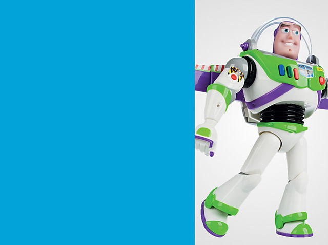 La nostra action figure di Buzz Lightyear comprende oltre 30 frasi e interagisce con altri personaggi di Toy Story. ACQUISTA ORA