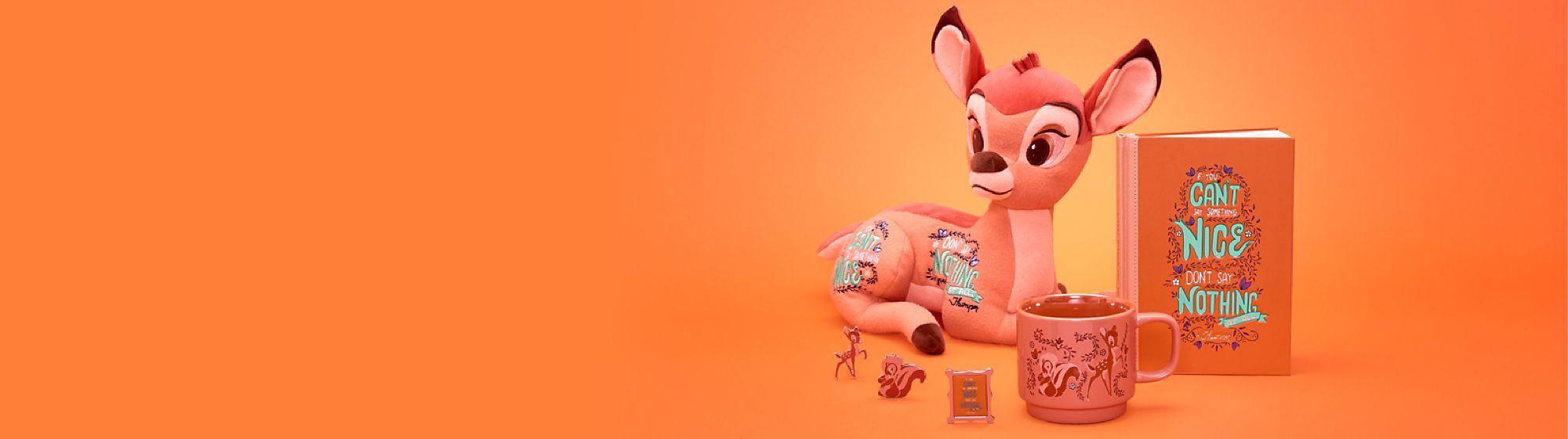 Bambi Déjate mimar por nuestra maravillosa colección de Bambi de Disney Wisdom Próximamente Lanzamiento el 18 de agosto