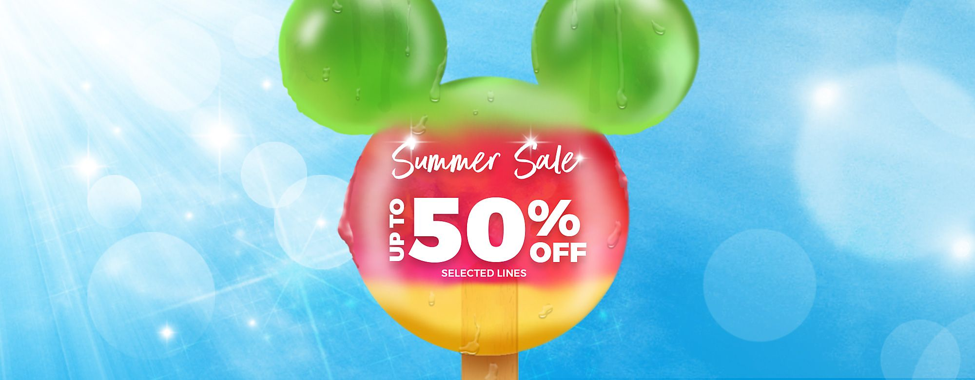 c90a9448b3 Massive Summer Sale | Up to 50% Off | shopDisney