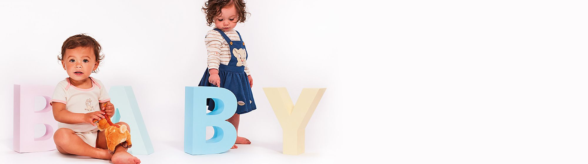 Baby Find the perfect gift for new arrivals including baby outfits,  costumes and toys featuring Bambi, Dumbo, Simba and more. DISCOVER MORE