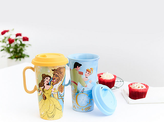 Time for Tea Sip on a little enchantment with our Disney Princess mugs