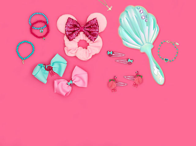 Oh So Cute! Discover our jewellery and hair accessories inspired by Minnie Mouse SHOP NOW