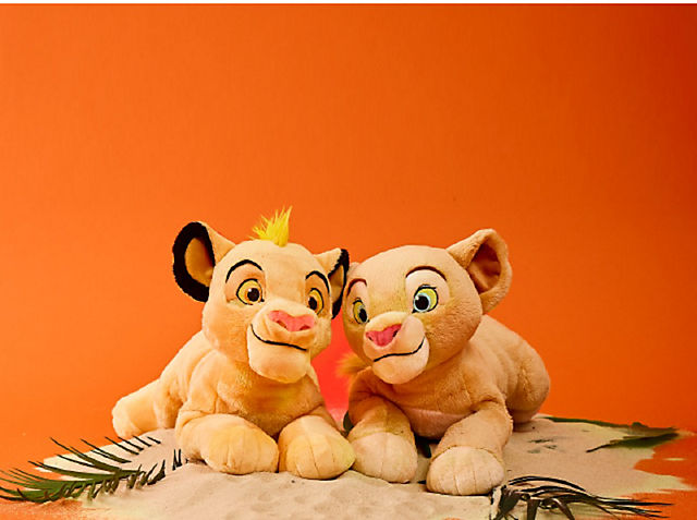 Simba & Nala Soft Toys Only £12.50 each