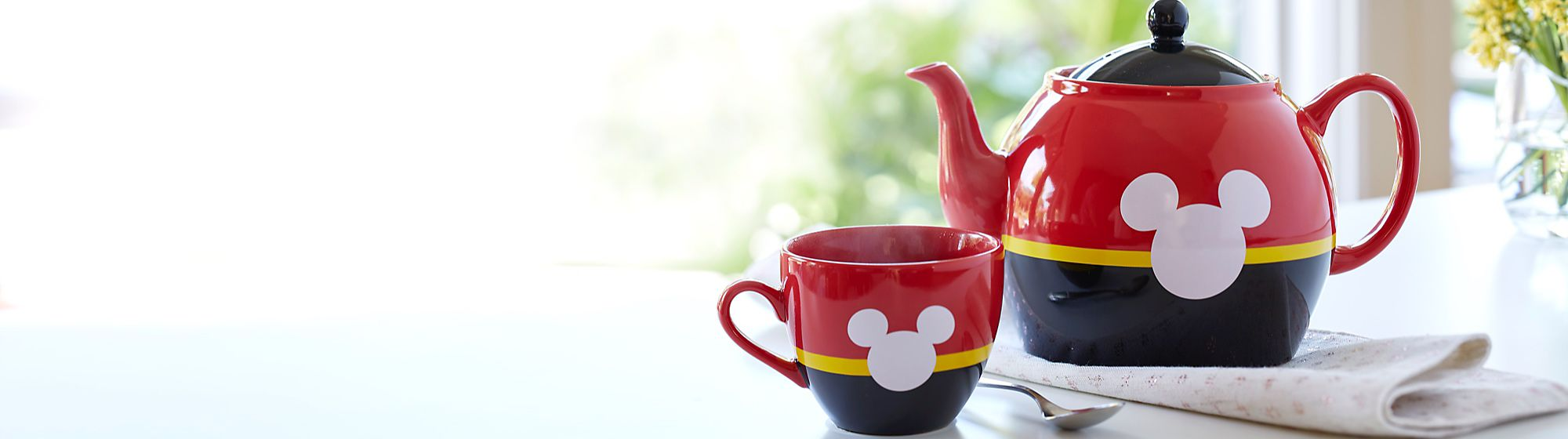 Homeware Bring the magic home with our wondrous range of homeware, including mugs, kitchenware and more