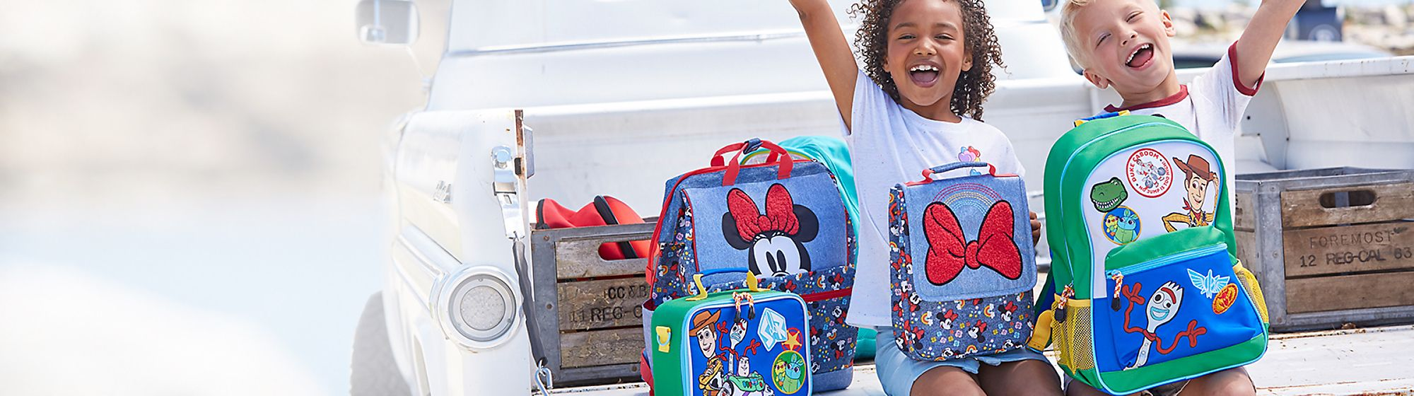 Back to School Stock up for school with our wide range of clothes, backpacks and stationery featuring your favourite Disney characters.