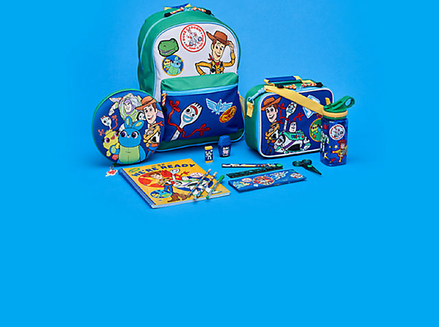 Toy Story 4 Get them ready for infinite opportunities on their journey to get ready for school SHOP NOW