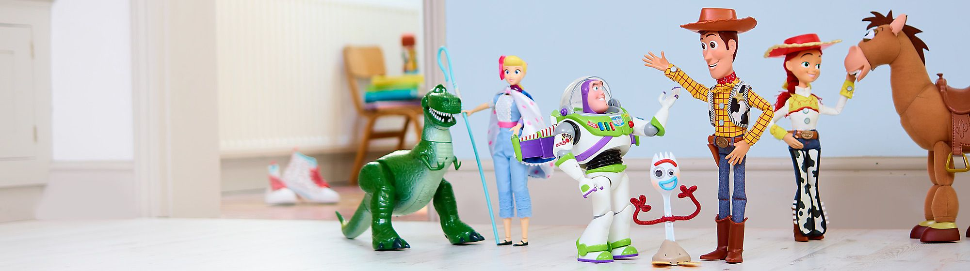 Explore our perfect Pixar range featuring toys, clothes and much more. Just keep shopping, just keep shopping...