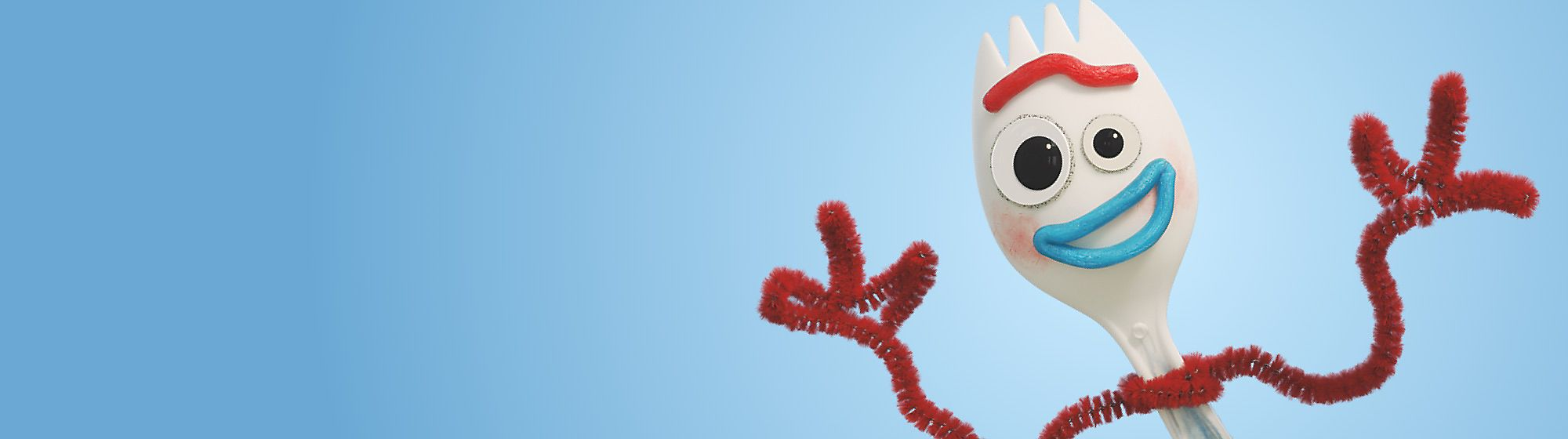 Forky Add a touch of quirky fun with our Forky toys, accessories, stationery and more